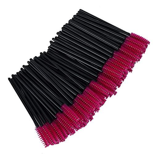 Nuolux Lot de 50 brosses en silicone jetables pour mascara