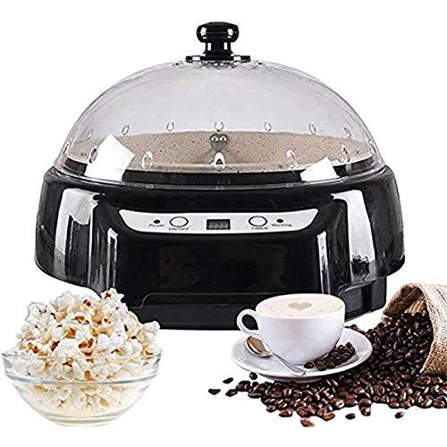 Startseite Coffee Roaster Maschine Haushalt Backautomaten Filterkaffeebohnenröster Zeittemperatur Einstellbar Geeignet Für Backen Kaffee, Raw Bohnen, Tee, Getreide Und Sesam,Schwarz