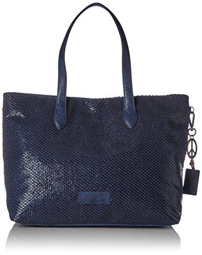 Fritzi aus Preußen Damen Andrina Shopper, Blau (Atlantic), 8.5x31x54.5 cm