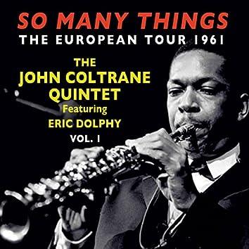 So Many Things: The European Tour 1961, Vol. 1