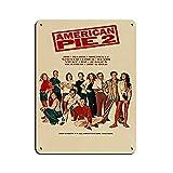 Art Deco Movie Retro Poster American Pie 2 Retro Poster