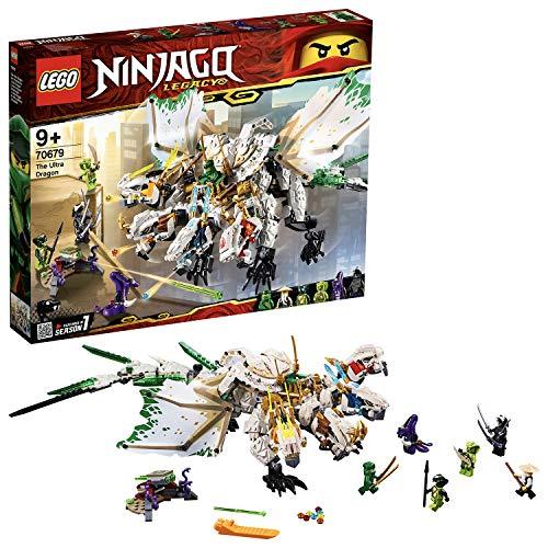 Lego 6250940 Lego Ninjago   Lego Ninjago De Ultra Draak - 70679, Multicolor