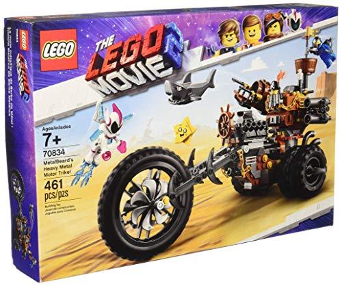 LEGO The Movie 2 MetalBeard's Heavy Metal Motor Trike! 70834 Building Kit (461 Piece)