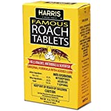 Harris Roach Tablets, Boric Acid Roach Killer with Lure (4oz, 96 Tablets)