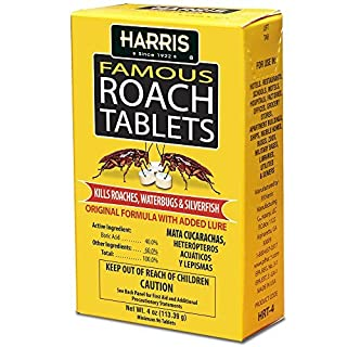 Harris Roach Tablets, Boric Acid Roach Killer with Lure (4oz, 96 Tablets) (B001B4ZNGA) | Amazon price tracker / tracking, Amazon price history charts, Amazon price watches, Amazon price drop alerts
