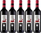 Vacceos Crianza Vino Tinto Tempranillo D.O Rueda - 6 Botellas de 750 ml - (Total 4.5 L) BODEGA CUATRO RAYAS