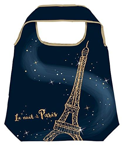 Moses. Shopper Paris | Bolsa de la compra plegable, respetuosa con el medio ambiente, reutilizable