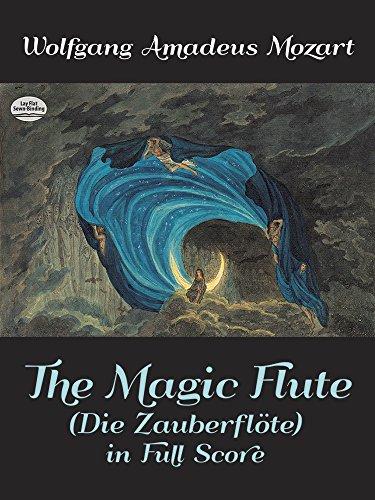 Magic Flute (Die Zauberflöte) (Full Score): Partitur für Flöte (Die Zauberflote in Full Score)