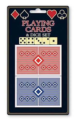Anker International Stationaire ACT Spelkaart met 5 dobbelstenen