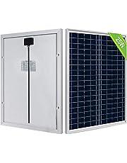 ECO-WORTHY 25 Watt 12 Volt Polykristallijn Zonnepaneel IP65 Waterdichte Zonnemodule Off Grid Batterij Opladen voor Auto Van Boot Camping Reizen