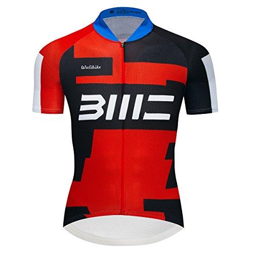 logas Pro Team Fahrradtrikot Einzigartige Fahrradkette druckt Herren Bike Shirt