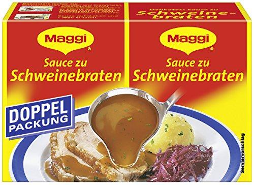 Maggi Delikatess-Sauce zu Schweinebraten, 9er Pack (9 x 46 g)