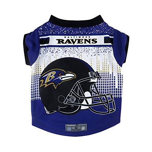 NFL Baltimore Ravens Pet Performace T-Shirt, Medium