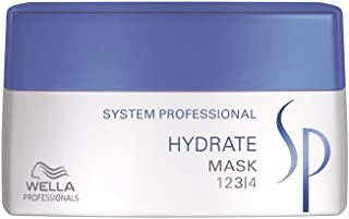 Wella SP Hydrate Hair Mask Without Overweighting, Long Lasting Protection for Dry Hair, 200ml