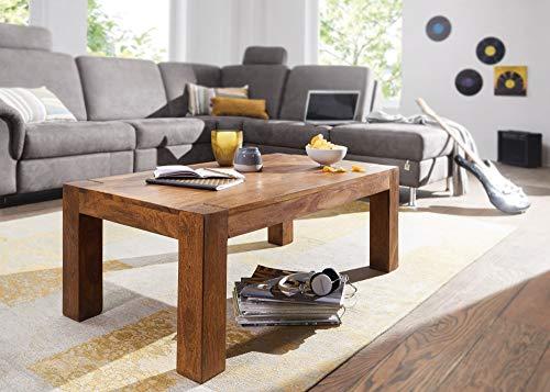 KADIMA DESIGN Sheesham legno massello Tavolino 110 x 60 cm tavolino in legno massello