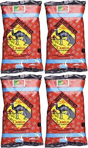 Café Camelo Torrefacto Descafeinado Especial en Grano - 4 paquetes de 500 gr