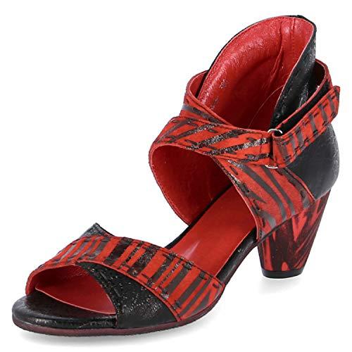 Simen Sandaletten Größe 36 EU Rot (Rot)