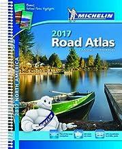 USA Canada Mexico Atlas 2017 (Michelin Atlas) [Idioma Inglés]