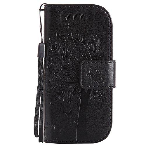 Nancen Compatible with Handyhülle Nokia 3310 Flip Schutzhülle Zubehör Lederhülle mit Silikon Back Cover PU Leder Handytasche im Bookstyle Stand Funktion
