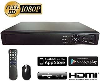 Surveillance Digital Video Recorder 8CH HD-TVI/CVI/AHD H264 Full-HD DVR w/o HDD HDMI/VGA/BNC Video Output Cell Phone APPs for Home & Office Work @1080P/720P TVI&CVI, 1080P AHD, Standard Analog& IP Cam