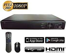 Surveillance Digital Video Recorder 16CH HD-TVI/CVI/AHD H264 Full-HD DVR w/o HDD HDMI/VGA/BNC Video Output Cell Phone APPs for Home/Office Work @1080P/720P TVI&CVI, 1080P AHD, Standard Analog& IP Cam