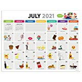 Cal 2022- Every Day s a Holiday Academic Year Desk Pad