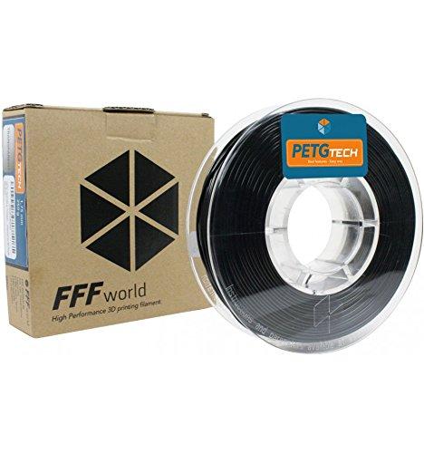 FFFworld 250 g. PETG Tech Negro 1.75 mm.: Amazon.es: Electrónica