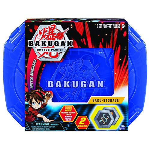 BAKUGAN, Baku-storage Case for BAKUGAN Collectible Action Figures, for Ages 6 and Up, Multicolor