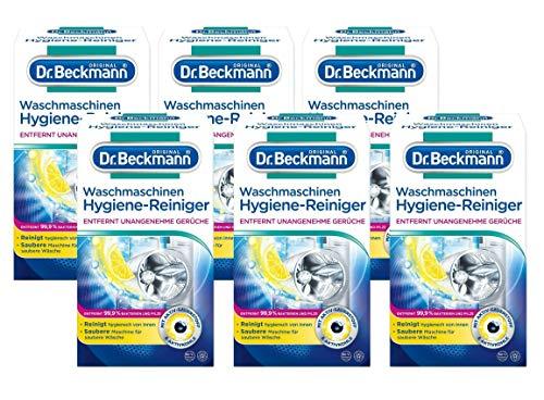 Dr. Beckmann Nettoyant Machine à laver Machine Hygiène, Lot de 6 x 250 g)