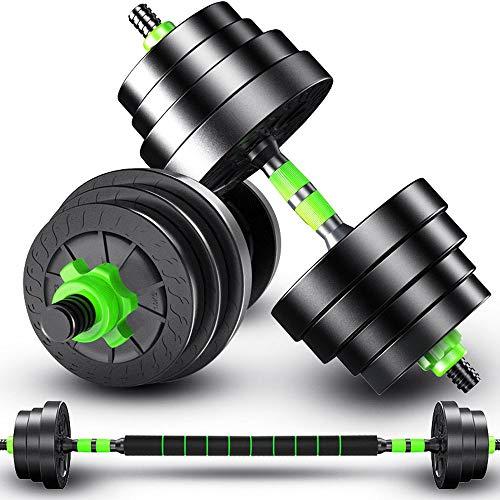 Ajustable mancuernas de fitness con mancuernas Set de 10 kg, 15 kg, 20 kg, 30 kg, 40 kg, pesos Pesas Conjunto Masculino Y Femenino Equipo de Entrenamiento en Casa muscular del brazo pesos de la gimnas