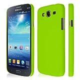 EMPIRE KLIX Slim-Fit Hard Case for Samsung Galaxy Mega 5.8 I9152 / I9150 - Soft Touch Lime Green