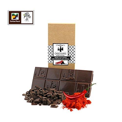 Chocolate negro artesano con cayena