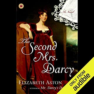 The Second Mrs. Darcy audiobook cover art