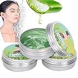3 piezas de gel hidratante de aloe vera, elimina las marcas de acné, reduce la hinchazón, resiste las picaduras de mosquitos, hidrata la reparación después del sol, crema facial antiacné reparadora de