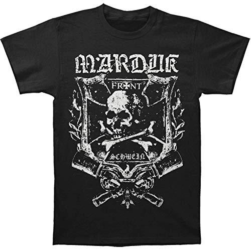 Marduk Frontschwein Shield T-Shirt S-3XL New T Shirt Discount 100% Cotton T...