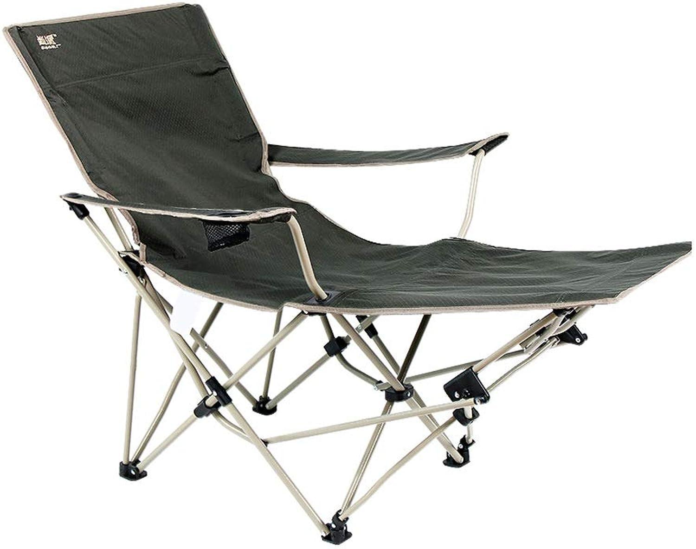 Q&Y-Klappstuhl Liege Klappbett zurück Strandkorb tragbare Freizeit individuelle Büro Mittagspause Stuhl-126  90  89cm