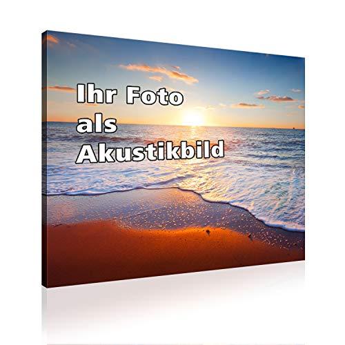 AbsorPic Akustikbild mit Ihrem Foto - Made in GERMANY
