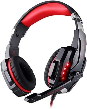 LIANGJIAN KOTION Each G9000 Computerspiel-Headset mit Mikrofon LED-Kopfhörer Laptop Tablet Universal-Headset 3,5-Mm-Stecker Gaming-Headset - Trova i prezzi più bassi