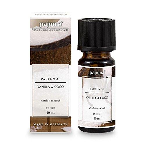 "pajoma Parfümöl ""Vanilla & Coco"", 10 ml, feinste Parfümöle in Geschenkverpackung"