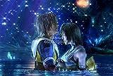 Final Fantasy CGC Huge Poster X Tidus and Yuna PS2 PS3 PS4 Vita - FFX001 (24' x 36' (61cm x 91.5cm))