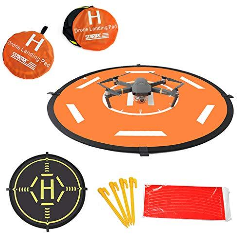 Sixcup® Drohne Landeplatz,Drone Landing Pad für Xiaomi FIMI X8 SE Drone,wasserdichte Tragbare Faltbare Landing Pads für RC Drones Hubschrauber (A)