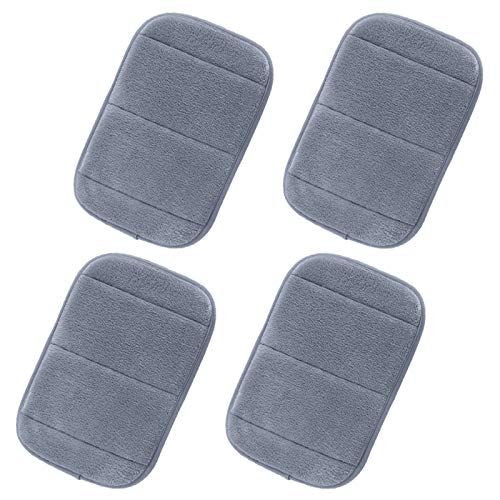 4Pcs Computer Portable Elbow Wrist Pad, AUHOKY 2 Sets Ergonomic Keyboard Wrist Rest Elbow Support Mat for Office Desktop Working Gaming - Memory Foam Relieve Elbow Pain (7.9″×11.8″) (Gray)
