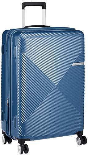 [サムソナイト] スーツケース キャリーケース VOLANT ヴォラント スピナー68 無料預入受託サイズ 容量拡張機能 保証付 66L 68 cm 4kg ブルー