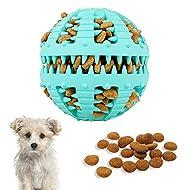 Bojafa Dog Toys Ball Durable Dog Puzzle Teething Toys for Boredom Small Medium Large Dog Teeth Clean...