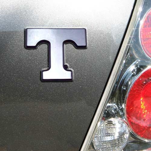 Elektroplate University of Tennessee Volunteers Power T Chrome Plated Premium Metal Car Truck Motorcycle Emblem