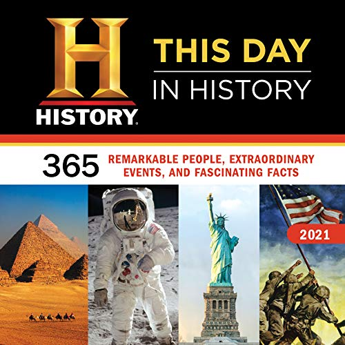 2021 History Channel This Day in History Wall Calendar: 365 Remarkable People, Extraordinary Events, and Fascinating Facts
