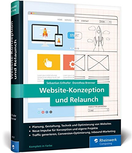 Erlhofer, Sebastian / Brenner, Dorothea: Website-Konzeption und Relaunch