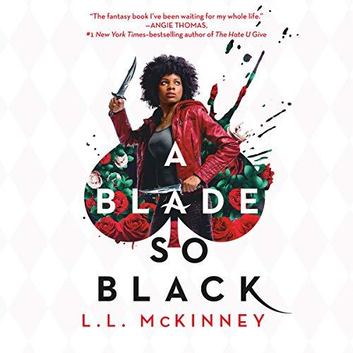 A Blade So Black audiobook cover art