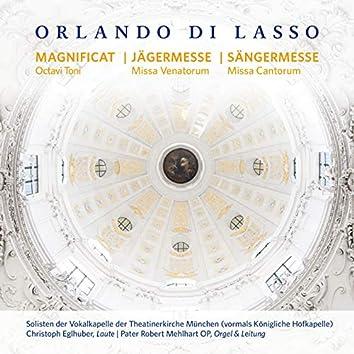 Orlando di Lasso - Magnificat Octavi Toni, Missa Venatorum, Missa Cantorum