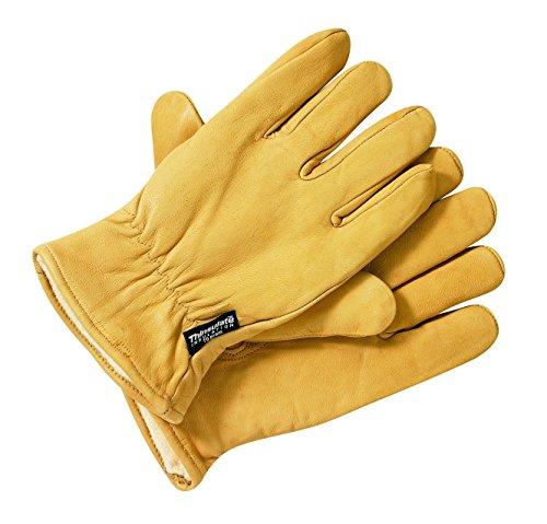 Dickies Herren Handschuhe Handschuhe Lined Leather Gloves beige (Tan) X-Large